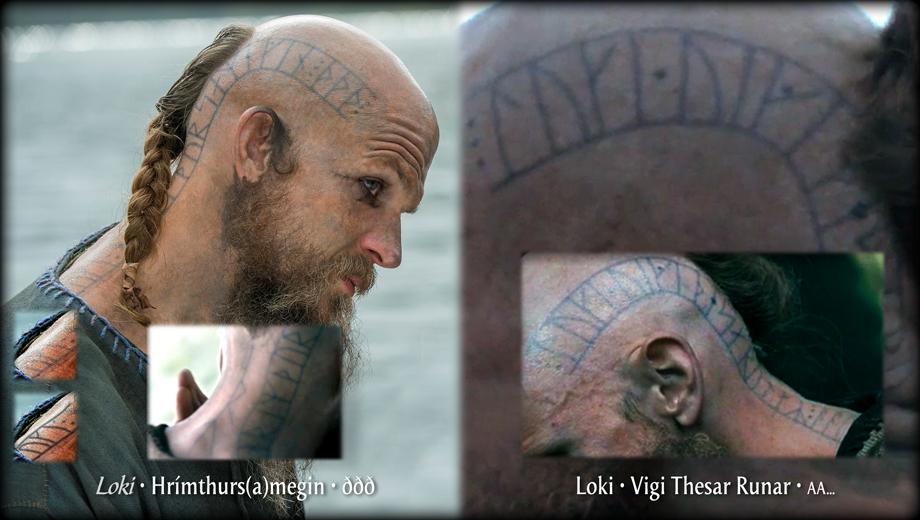 Floki Tattoos: Floki Head Tattoo Capped From Vikings