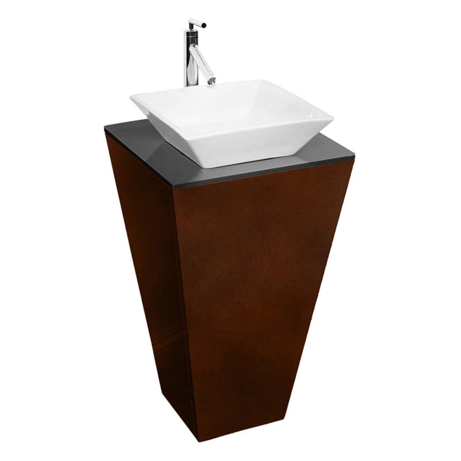 Wyndham Collection Wc Cs004e Ts Espirit 20 125 In Single Bathroom Vanity Set Glass Vanity Single Bathroom Vanity Sink