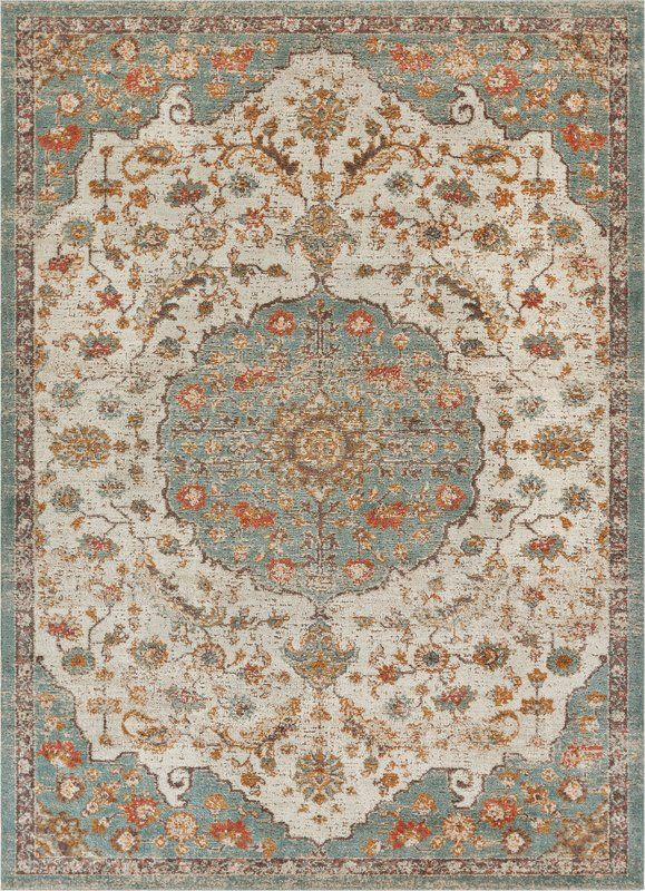 Hauge Blue Beige Area Rug Entryway Ideas Traditional