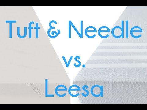 Leesa Vs Tuft Amp Needle Mattress Review Sleepopolis