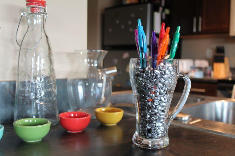 Photo of Thrifty Thursdays: Coffee Bean Pen Holder –  Thrifty Thursdays: Coffee Bean Pen …