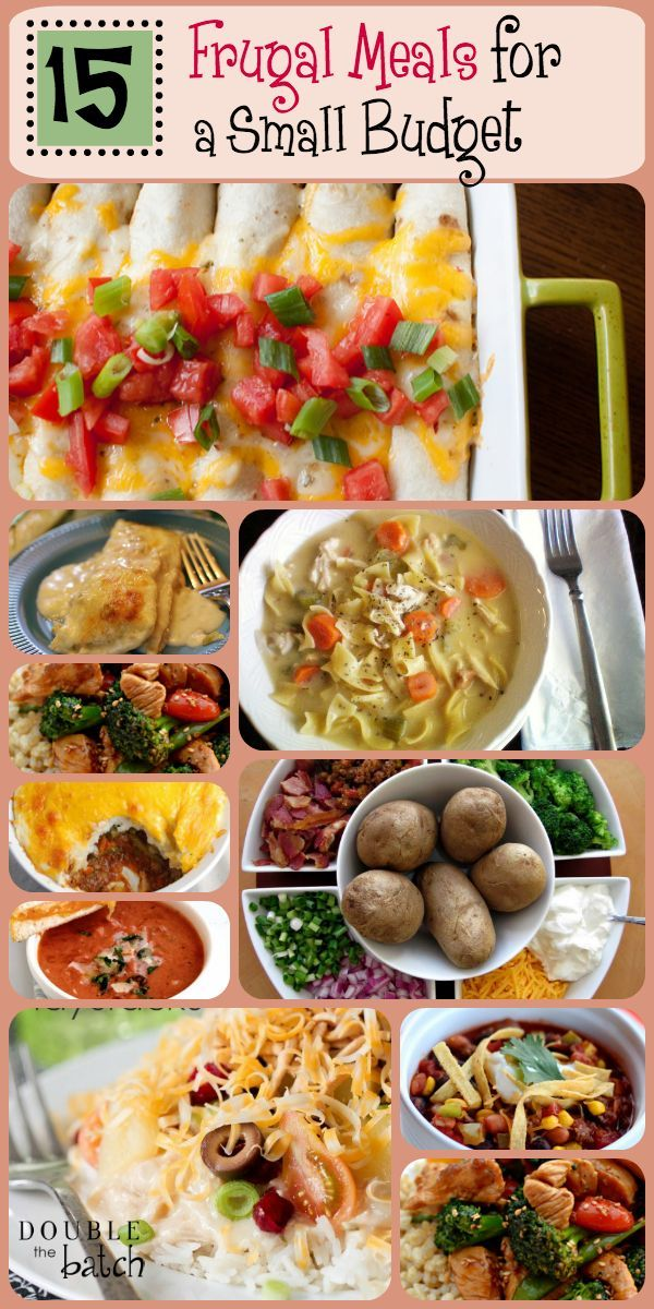 15 frugal meals for a small grocery budget frugal frugal meals food forumfinder Images