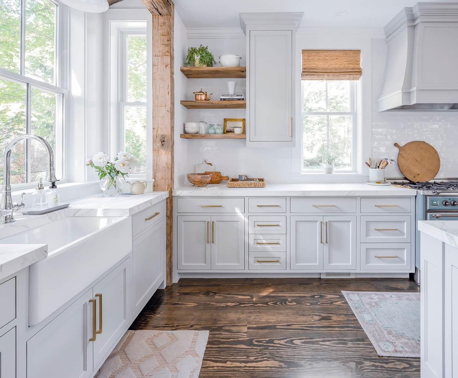 Best Coastal Kitchens Beach Decor Ideas For 2020 White Farmhouse