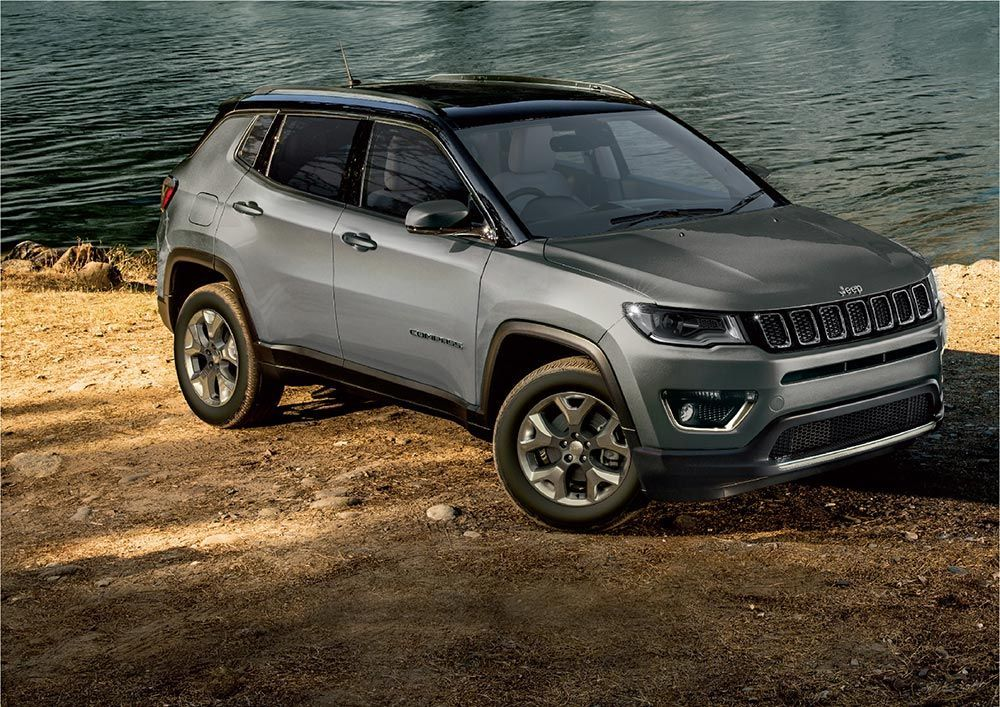 Jeep Compass Bs6 Diesel Automatic Variants Launched At Rs 21 96l