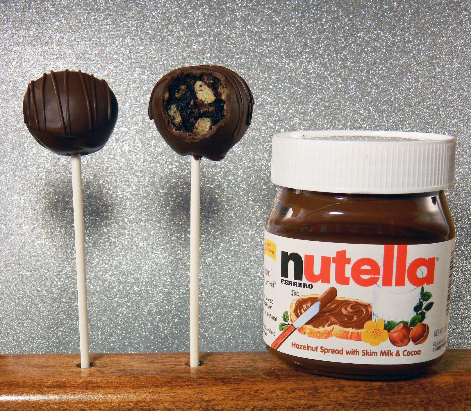 Nutella Cake Pops