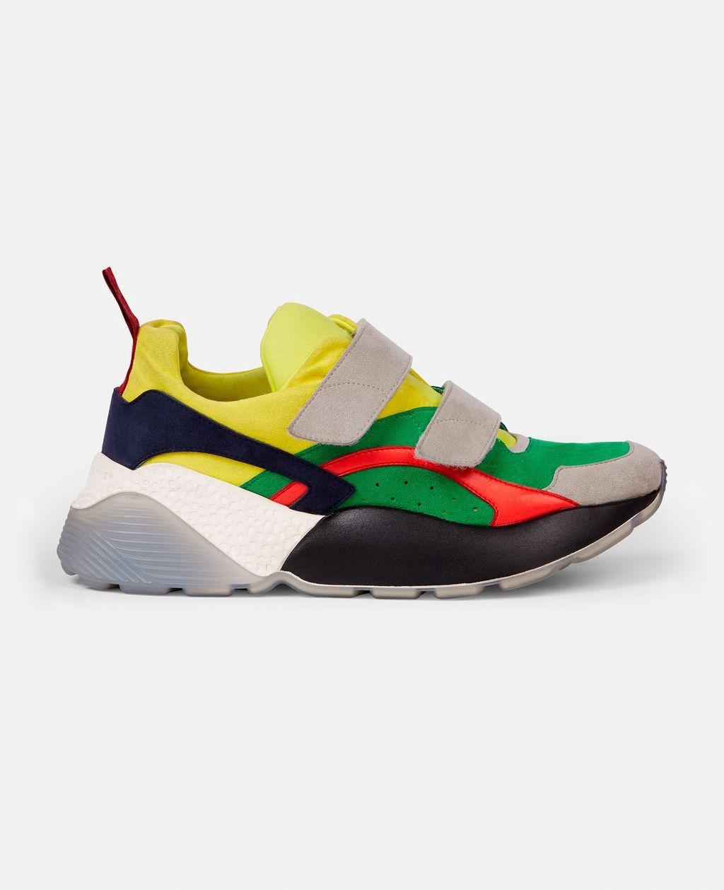 Stella Mccartney Eclypse Colour Block Sneakers - 11  3bb4c779beb30