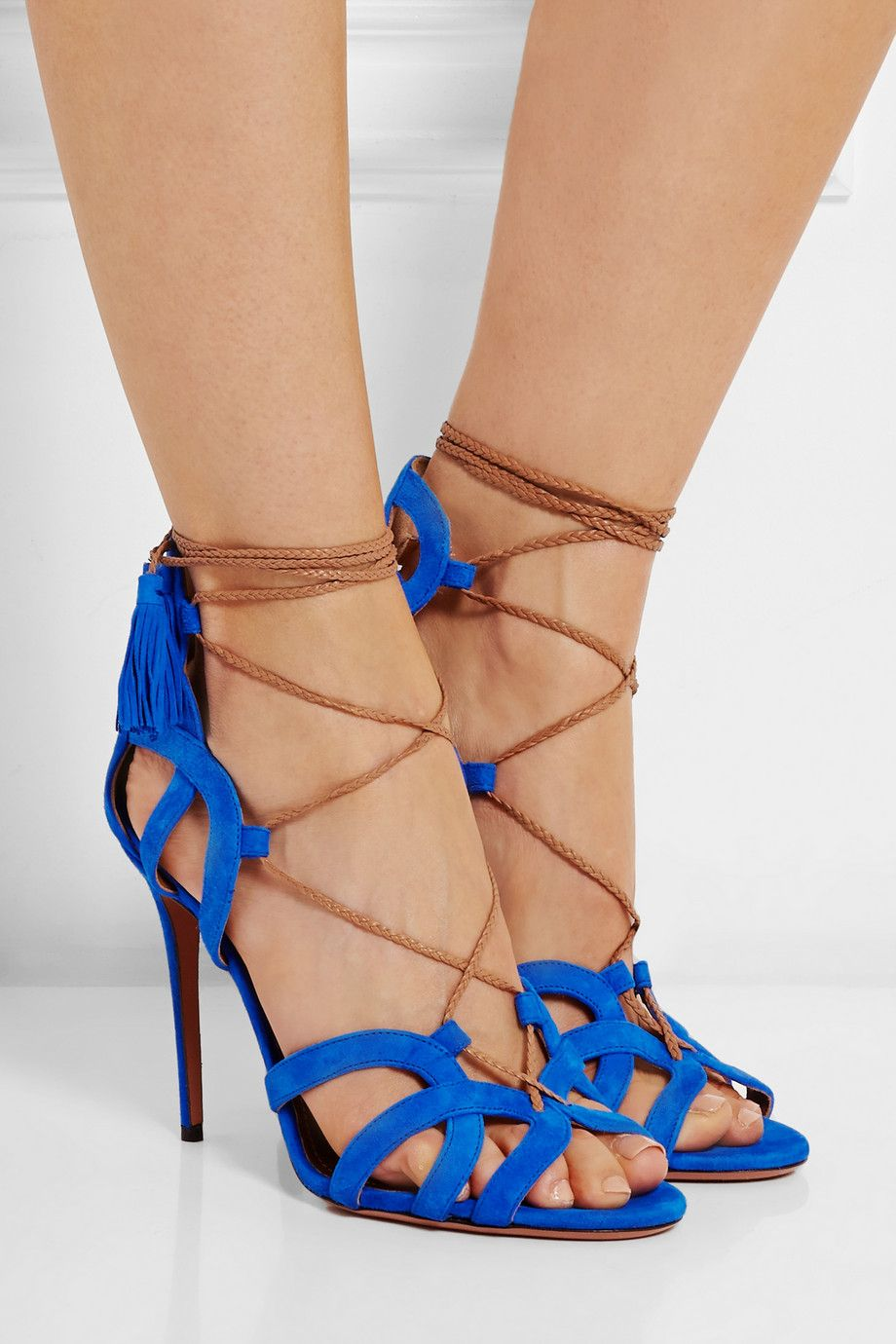 Aquazzura Mirage Suede Sandals supply online high quality for sale u0f5K10U5