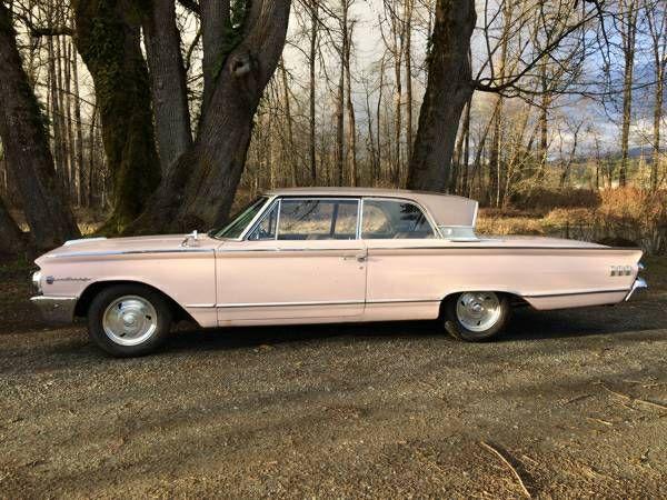 Classic 1963 Mercury Monterey Super 390 Pink Monterey Mercury