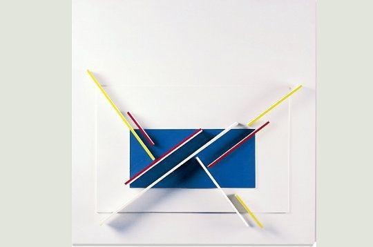 Jean Gorin (1899-1981). L'artiste s'est fait remarquer dans le milieu artistique par ses créations en relief. Au stand D3, les visiteurs peuvent admirer, voir acheter sa Composition n°127. Jean Gorin, Composition n°127, vinyl sur bois, 105 x 100 x 13 cm, Galerie Anna Lahumière. © Artparis