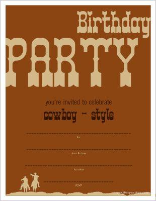 Free printables cowboy birthday party invite birthday boy free printables cowboy birthday party invite filmwisefo Choice Image