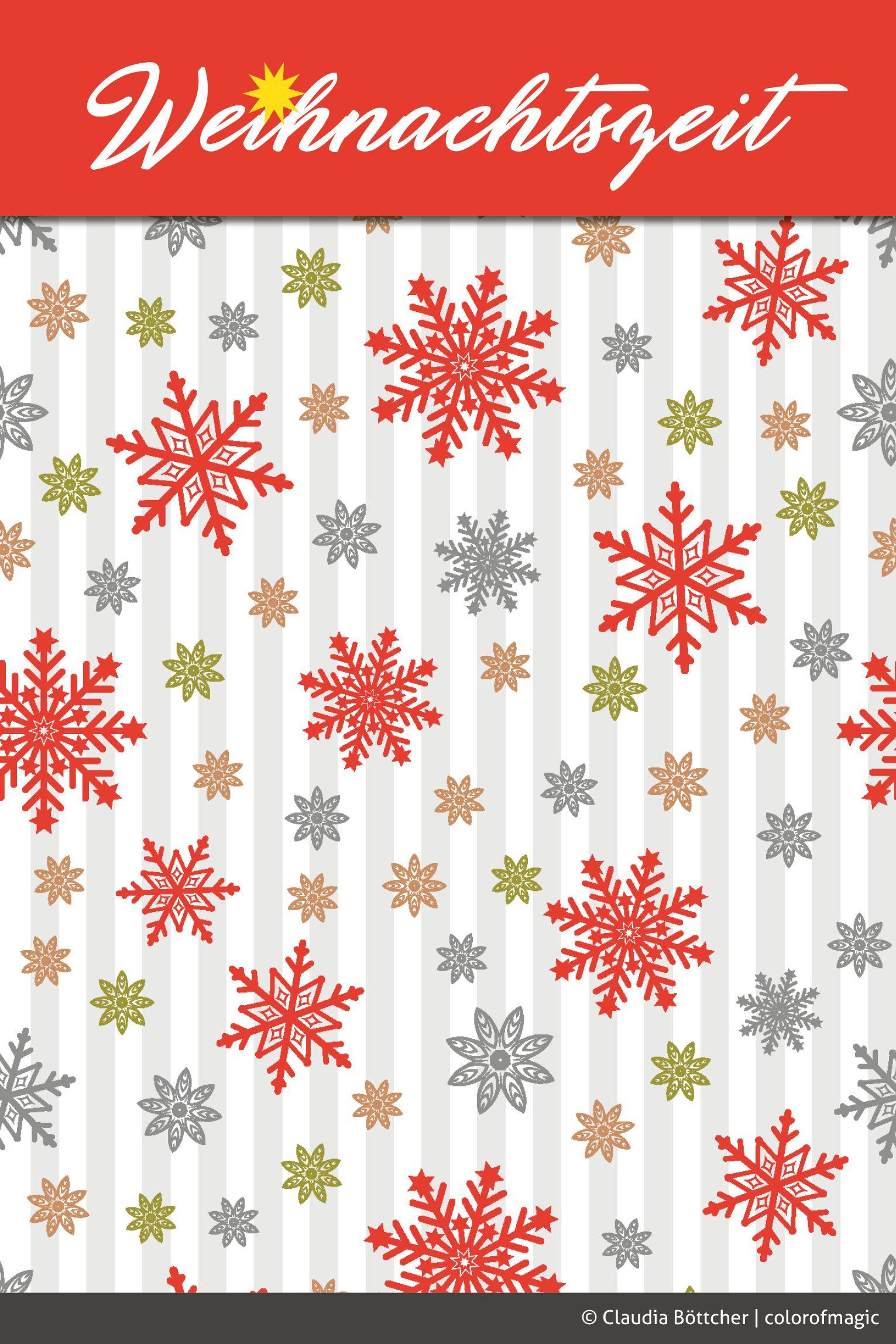 Das Stern-Muster gibt´s jetzt als Stoff und Geschenkpapier bei ...