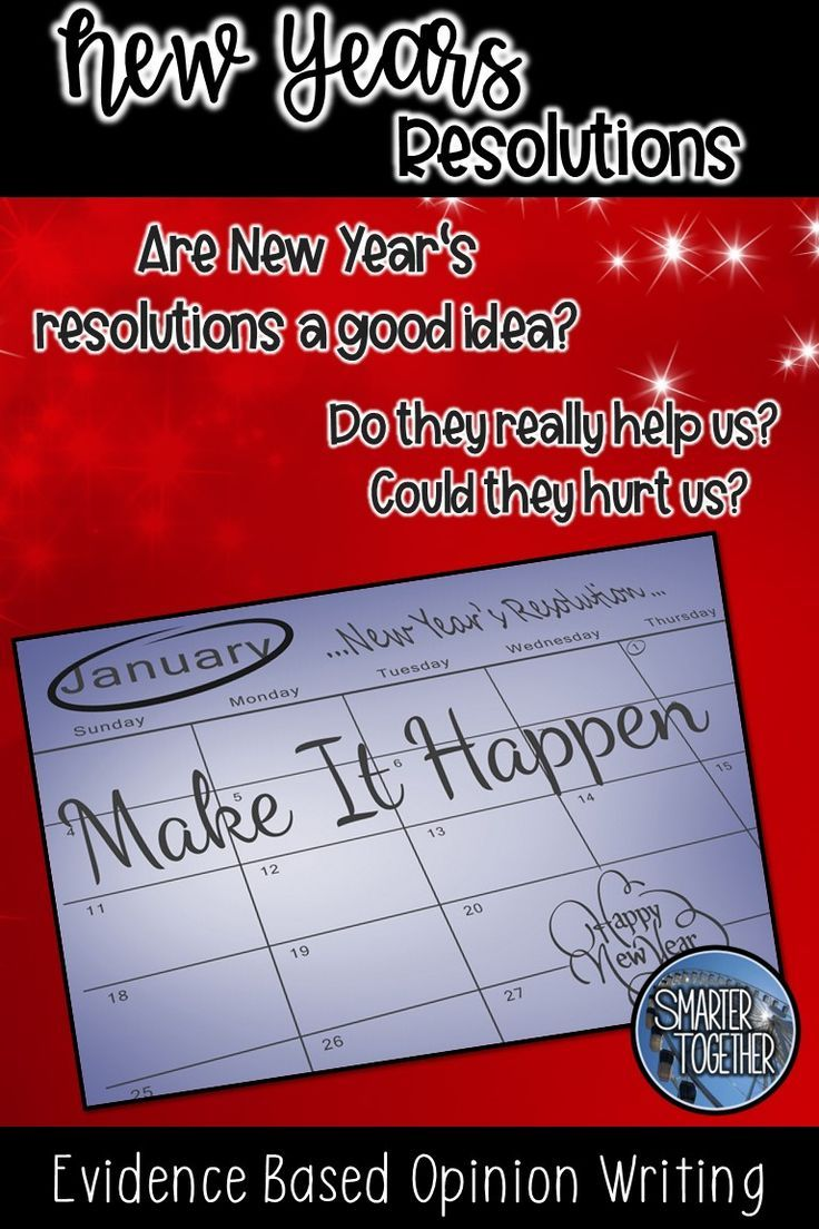 New Years Resolutions 2020 Evidence Based Writing