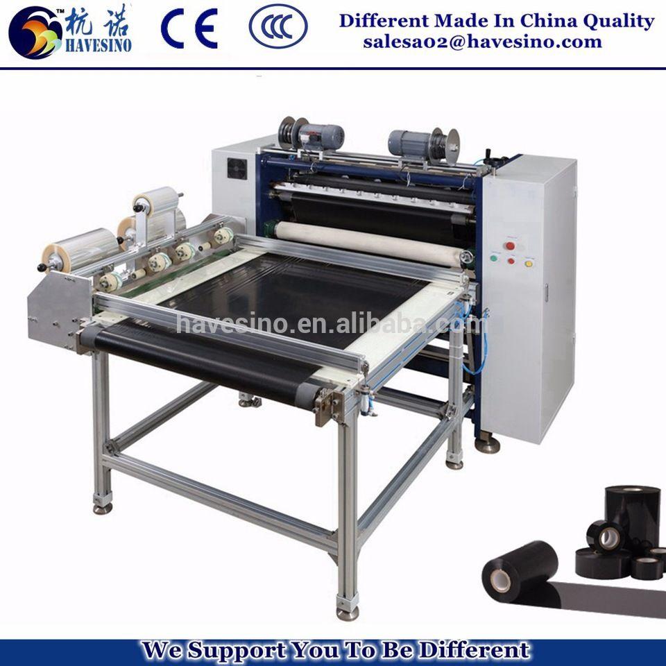 High Speed European Quality Thermal Transfer Ribbon Slitting machine TTR Slitter Machine