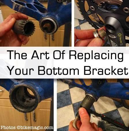 repair bottom bracket replace Bike