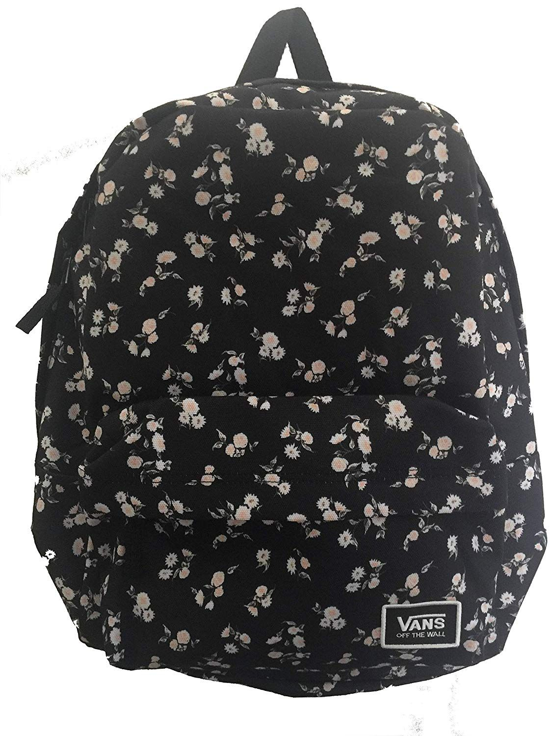 White Black Vans And Realm ca BackpackAmazon Classic Floral 29IWEDH