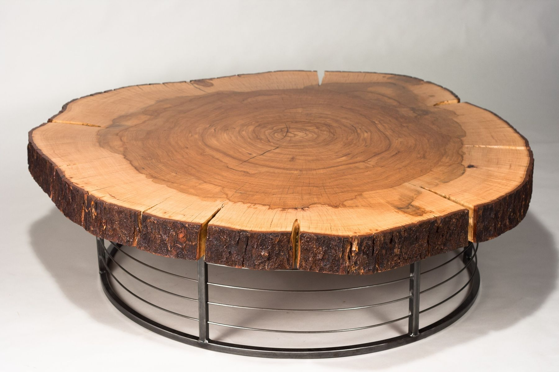 Natural tree trunk coffee tables were like if chip and joanna natural tree trunk coffee tables geotapseo Images