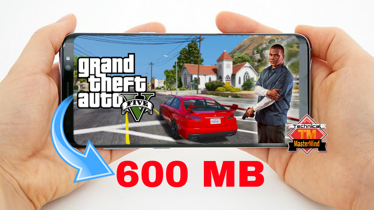 GTA 5 600 MB Full Game Highly Compressed Mod 2018 Technical