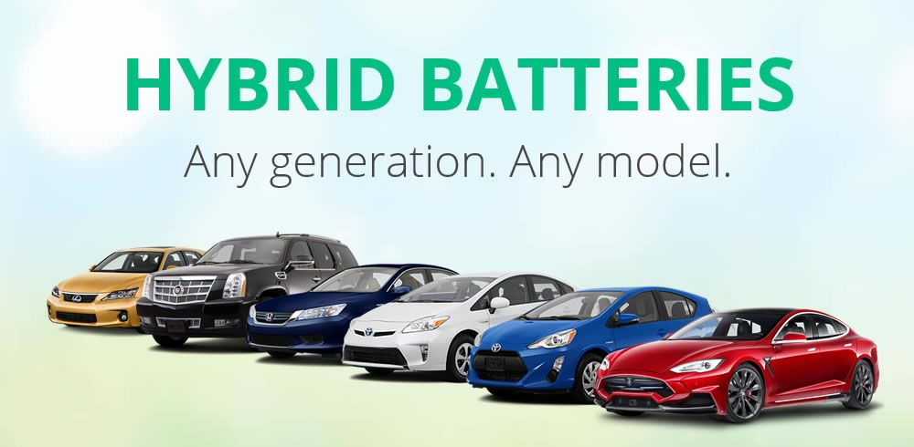 Rebuilding Hv Batteries For Most Hybrid Cars Including Prius Camry And Honda Civic 4 Year Warranty Free Shipping Mobile Instal Hybrid Car Jump A Car Battery