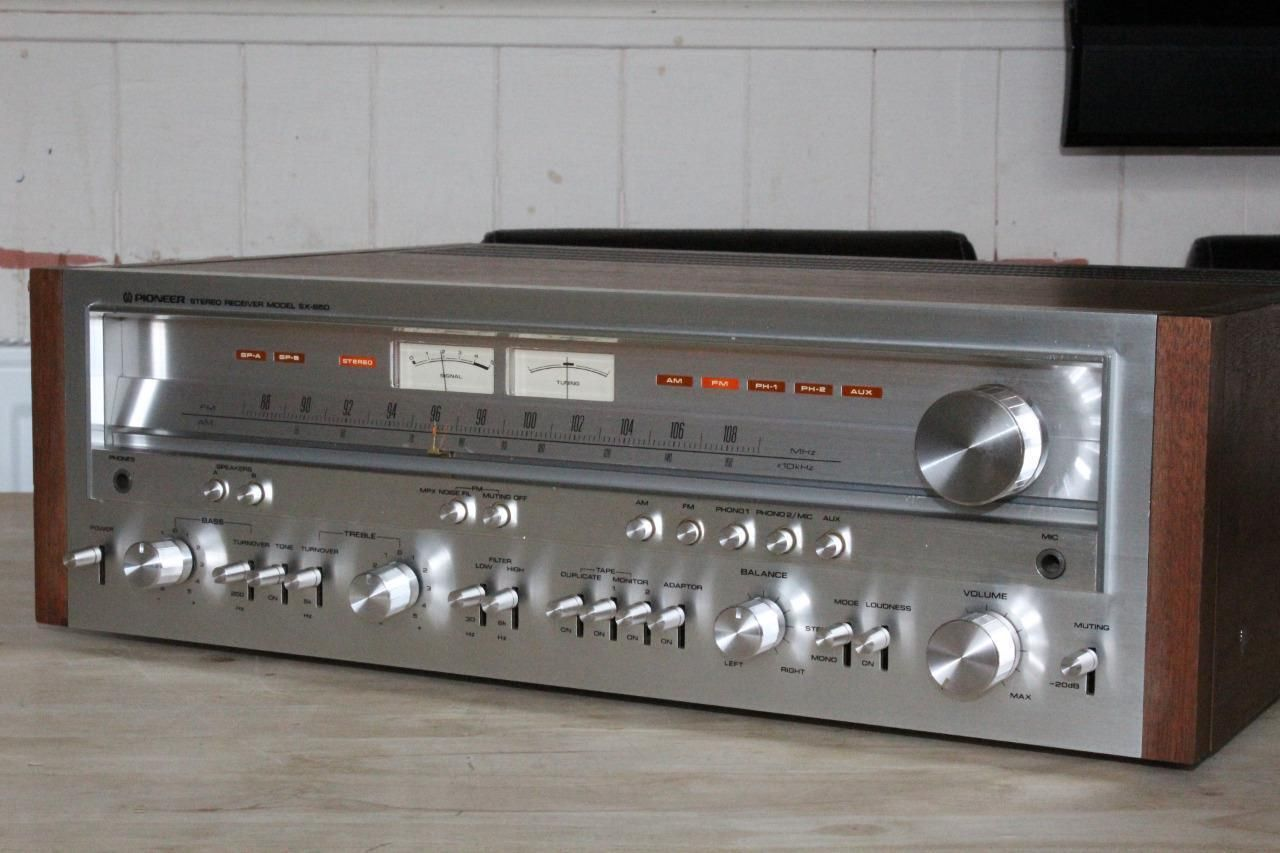 Pioneer SX-850 Vintage Stereo Receiver Hi-Fi Separate Phono