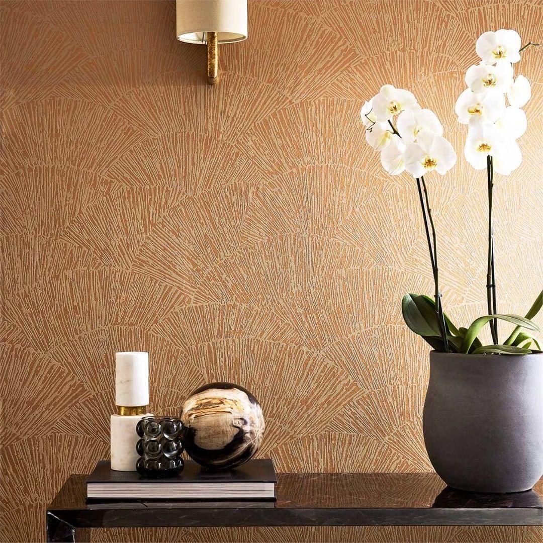 Winter Decoration Ideas At Home Wintery Motive Serving Board Copper Wallpaper British Design Wallpaper Direct