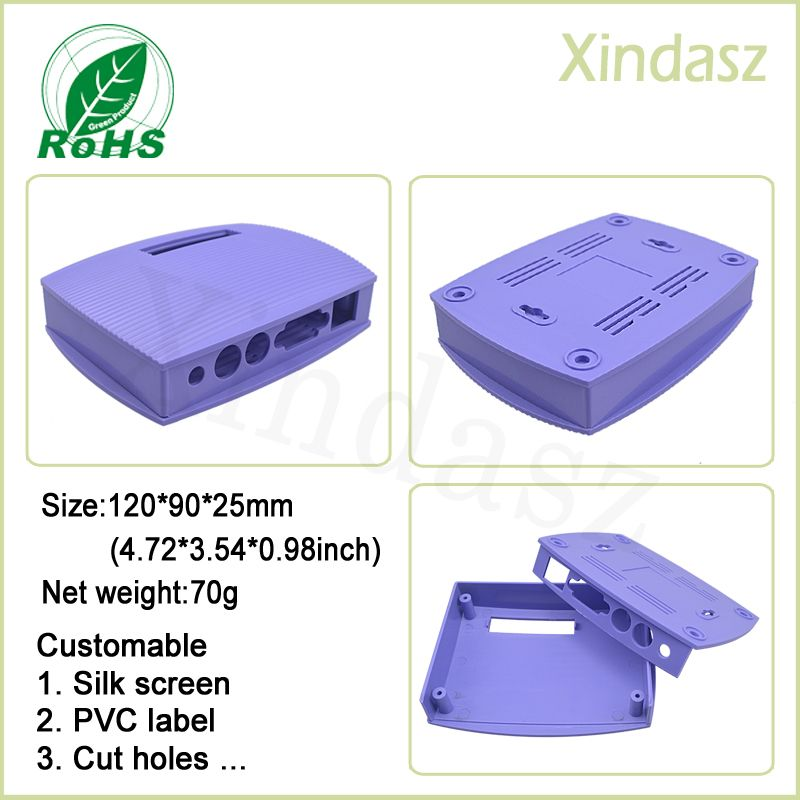Xd0104083 1pcs Plastic Project Box Abs Enclosure Plastic Pcb Enclosures Instrument Casess For Electronics 120 90 25mm Enclosures Electrical Equipment Pvc