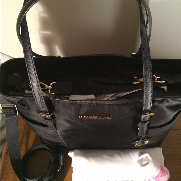 822fb3dbebe62 Michael Kors Bags - Diaper Baby Bag Michael Kors Jet Set Black NWT ...