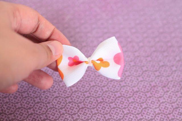 Make It Handmade: Two Minute Ribbon Hair Bows