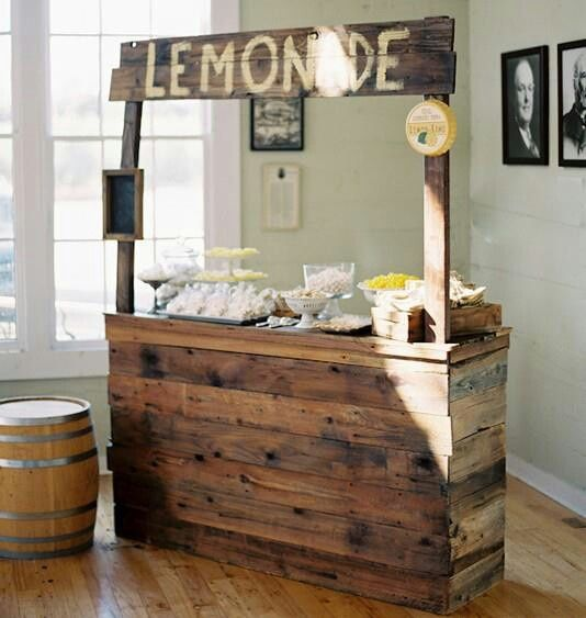 How to build a lemonade stand out of wood google search for Rustic lemonade stand