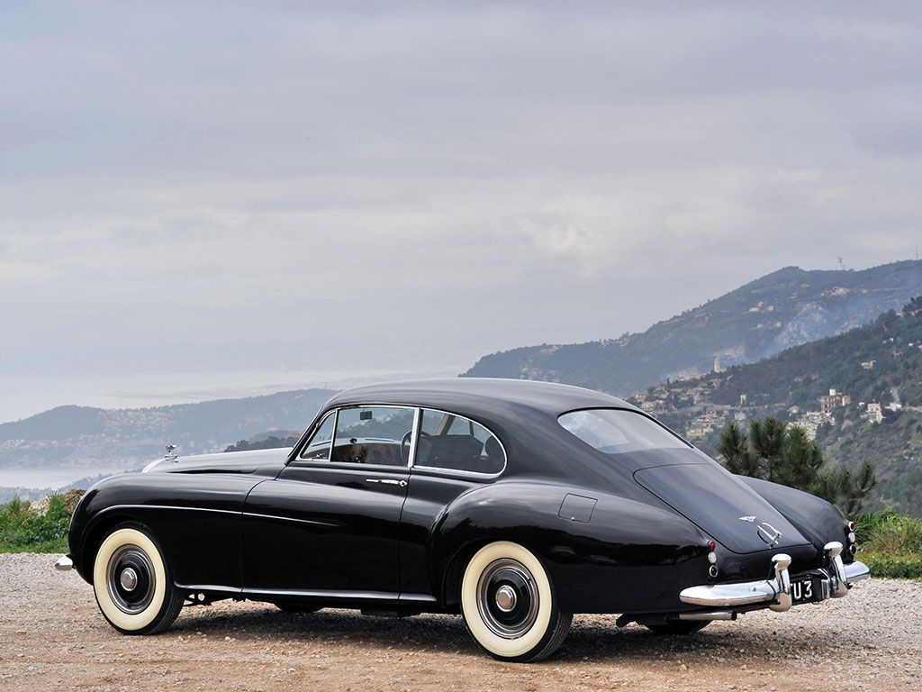 1954 Bentley R Type Continental Fastback Sports Saloon By H J