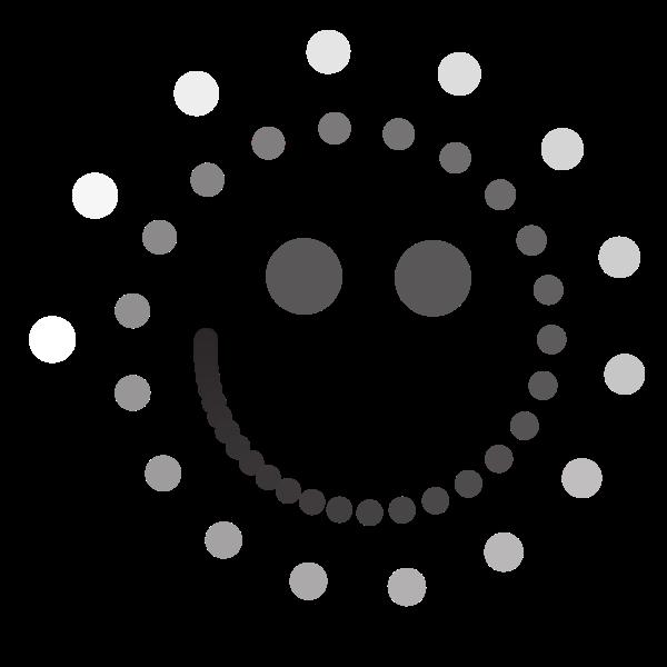 Smiley Emoticon With Dots In 2020 Emoticon Smiley Dots