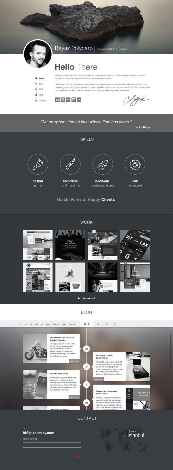 10 freie Photoshop (PSD) Website Templates » Frisch Inspiriert ...