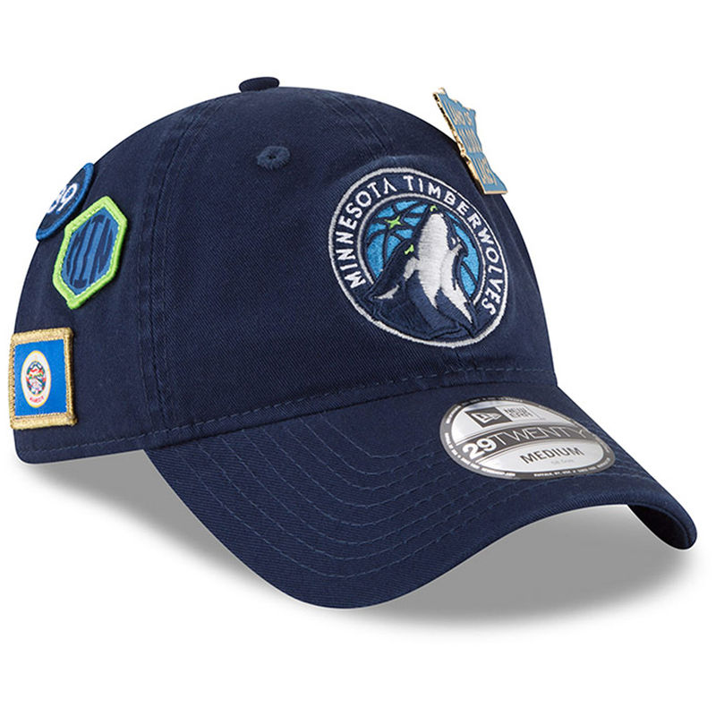 Minnesota Timberwolves New Era 2018 Draft 29TWENTY Fitted Hat – Navy ... 48074f4b6a08
