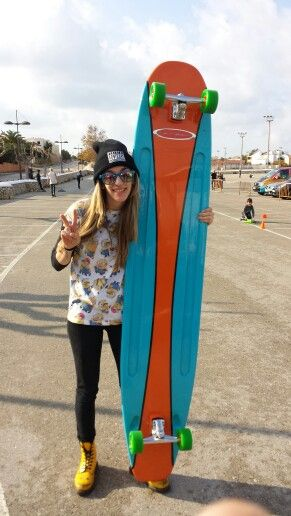 Super longboard from