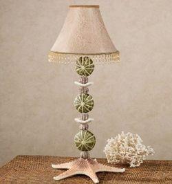 Natural Wonders Shell Table Lamp