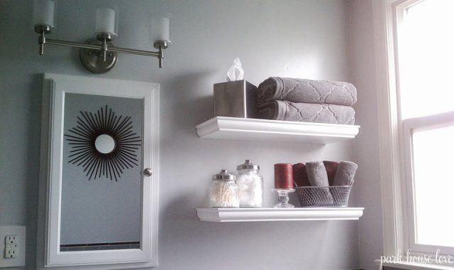 Bathroom shelf inspiration
