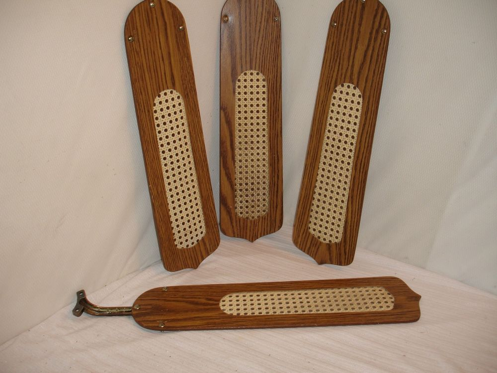 Details About Concord Ceiling Fan Wicker Blades Replacements Set
