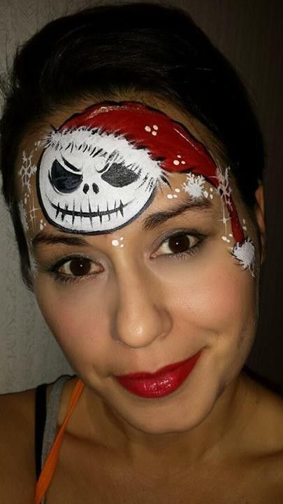 2014 Angry Ghost Halloween Nightmare Before Christmas Makeup ...