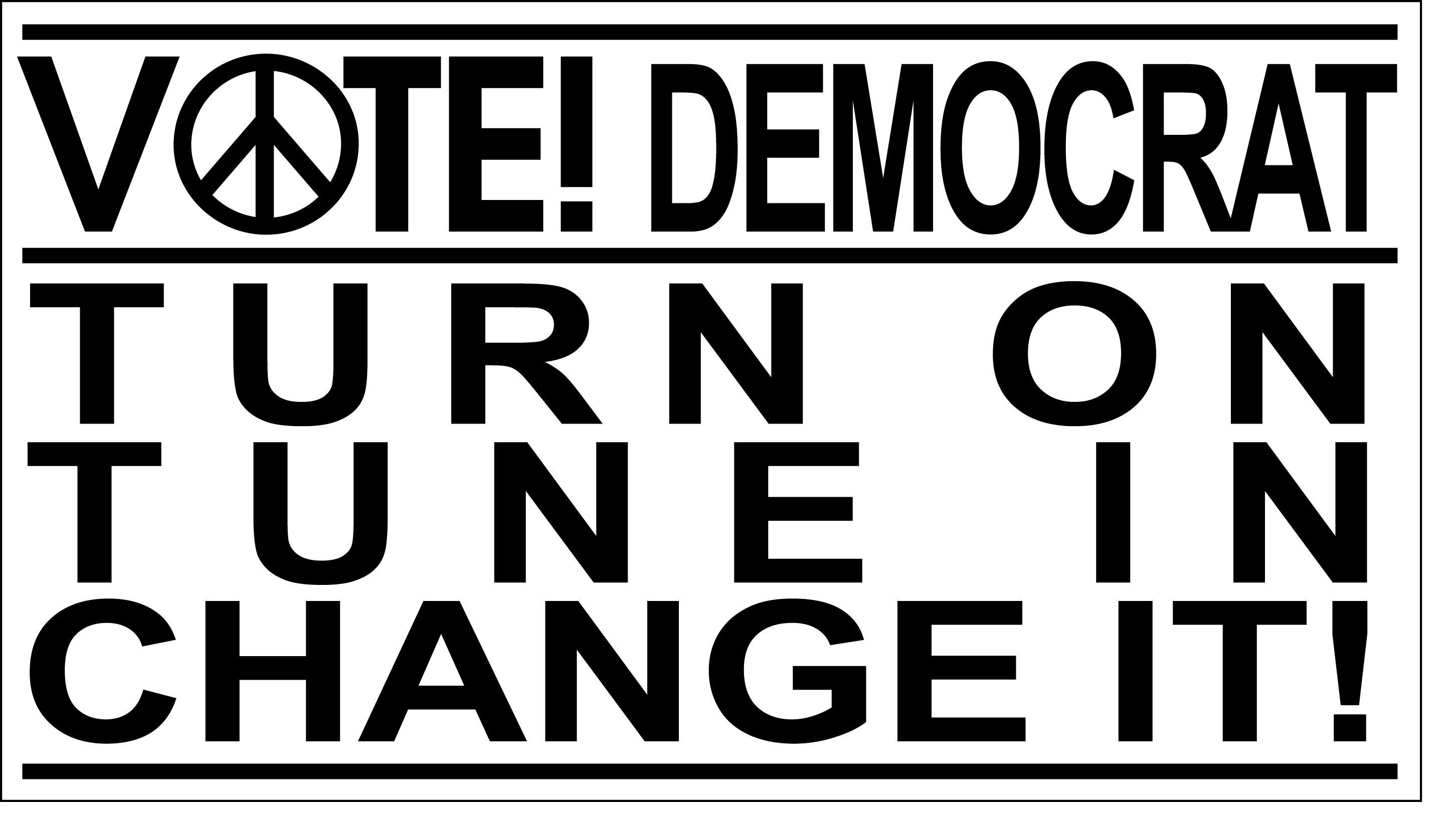 Pin On Vote Democrat