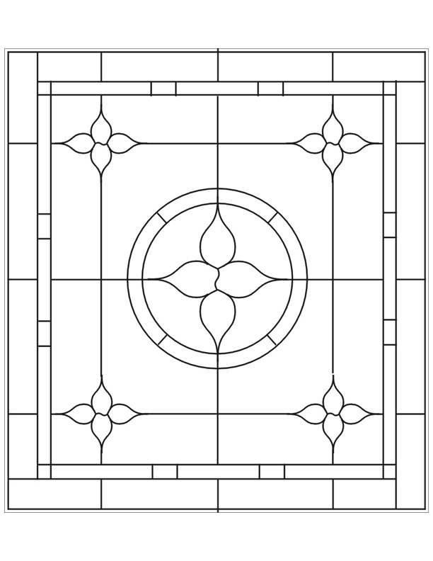 ☆ Stained Glass Patterns for FREE ☆ glass pattern 899 ...