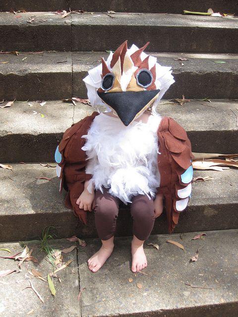 bird costumes for children \u0026 purple feathered bird costume forchildu0027s costume for a pre school play kookaburra (australian bird)