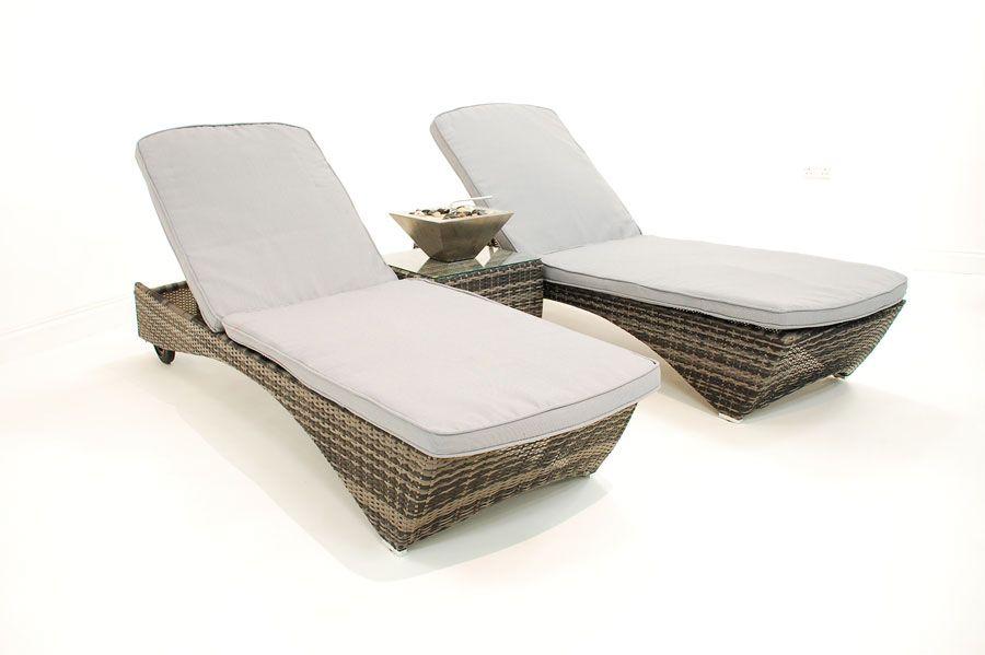 outdoor furniture by outer eden = sunbed set