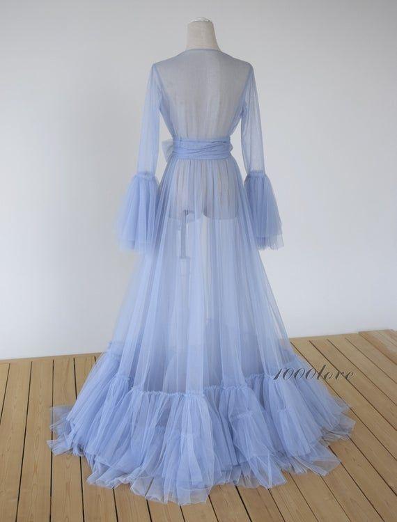 Custom Sheer tulle dress formal evening dresses,long sleeves photo shoot tulle dress,Maternity