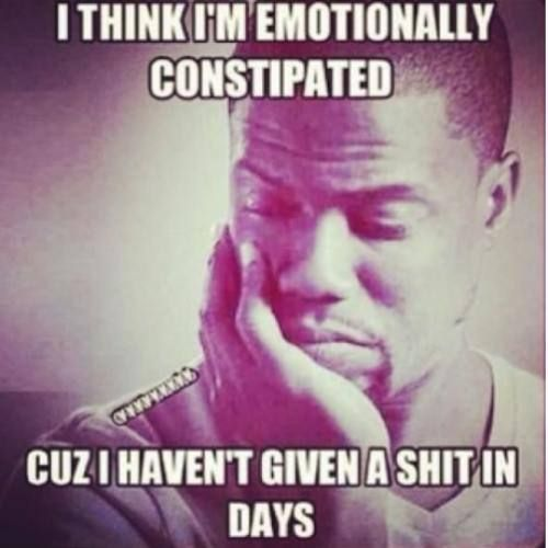 Emotionally Constipated Lol Funny Quotes Kevin Hart Jokes Haha Funny
