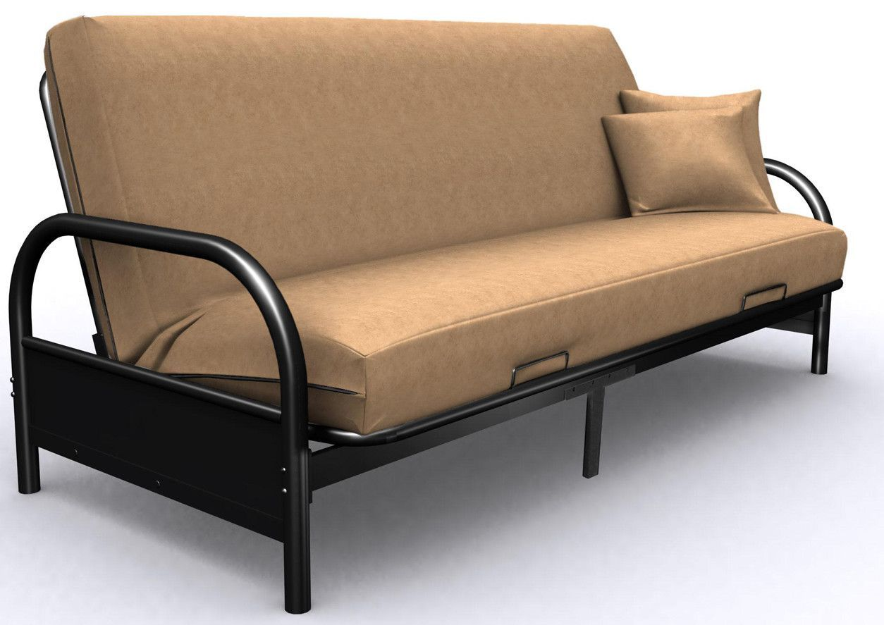 buy Metal Round Arm Futon Frame at Harvey & Haley for only 209.00