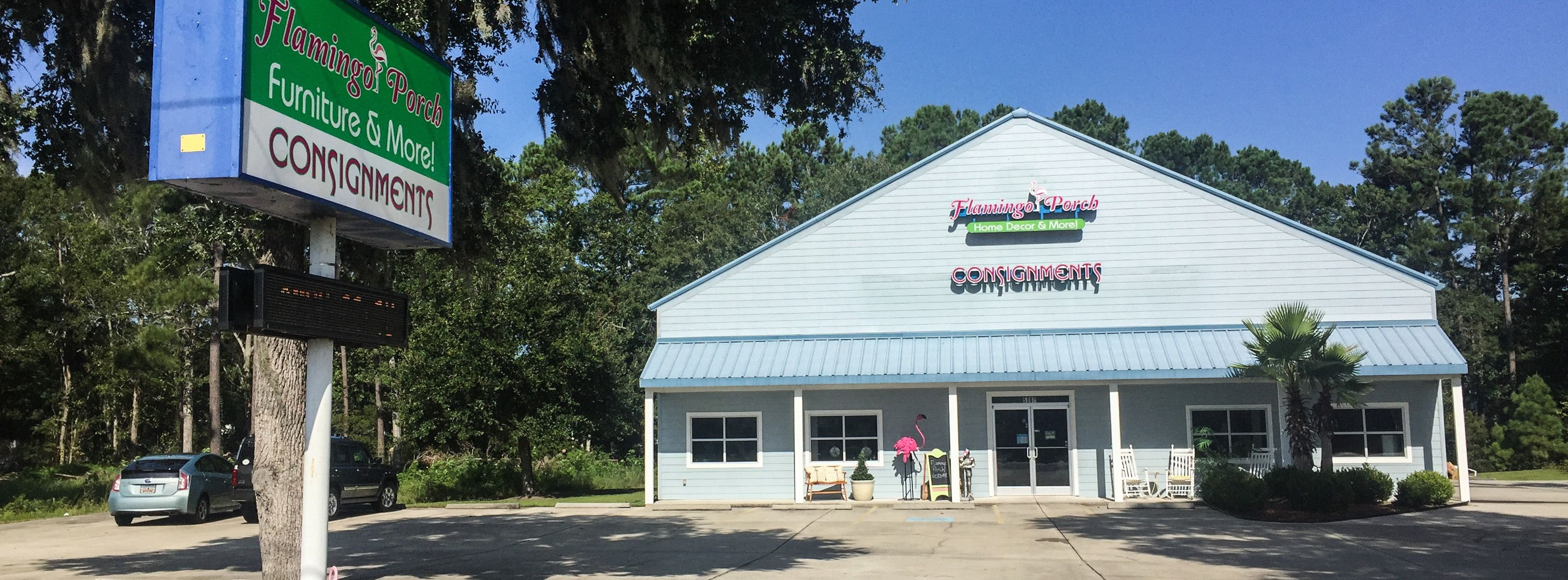 Flamingo Porch Consignment, Located In Murrells Inlet, Sc Has Relocated