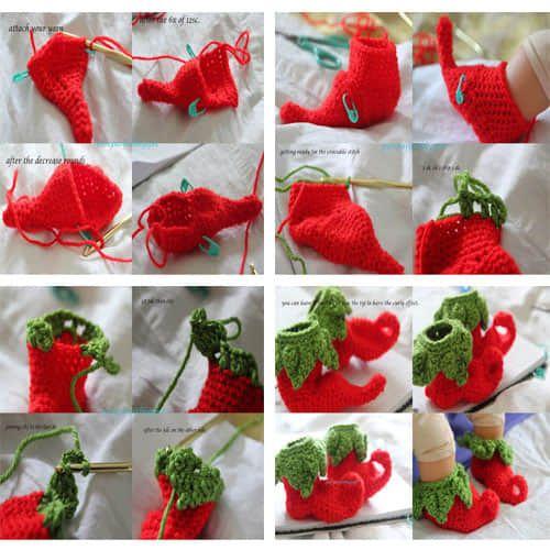 navidad bebe crochet08 Crochet para Nios Pinterest Bebe
