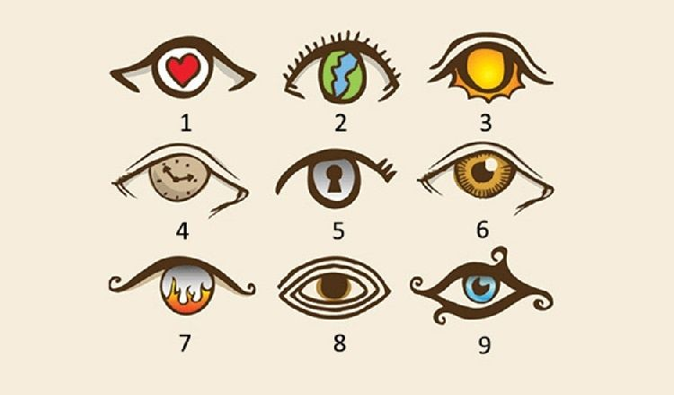 Melyik szem tetszik a legjobban? Ezt árulja el a személyiségedről