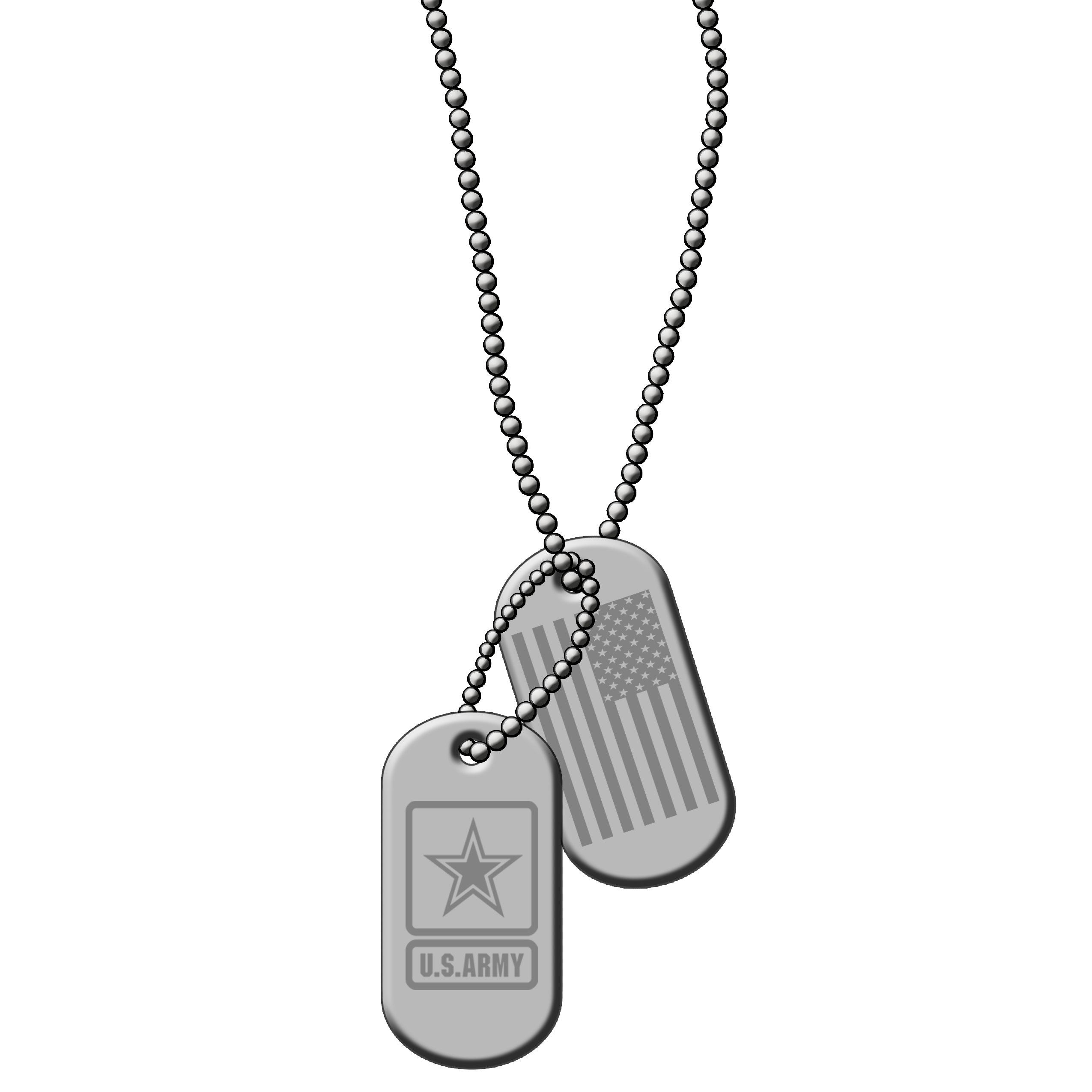 ID Dog Tags Silver Metal PNG Clip art Vector US ARMY