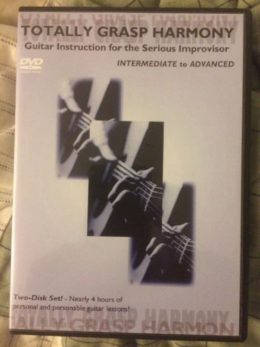 TOTALLY GRASP HARMONY Guitar Lesson DVD Instruction Set Theory Chord ...