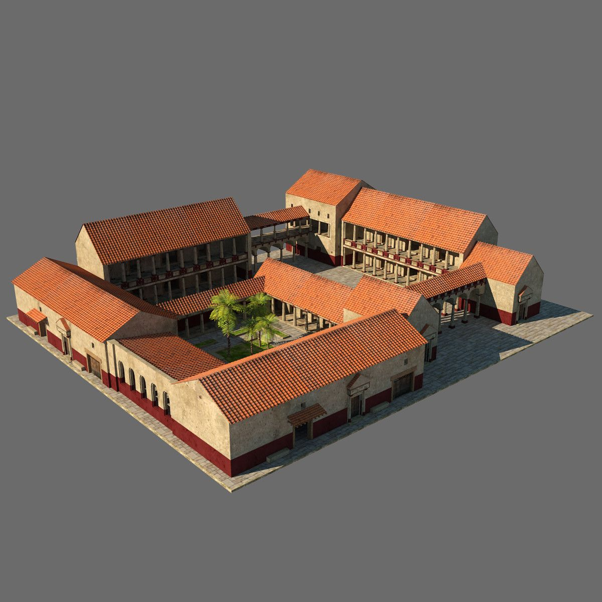 Greekhouses00b Jpg1d5ae7d9 9e5c 4af3 9f4a F75abae15260original Jpg 1200 1200 Ancient Greek Architecture Ancient Roman Houses Roman Villa